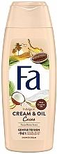 """Profumi e cosmetici Crema doccia """"Cacao e olio di cocco"""" - Fa Cacao Butter And Coco Oil"""