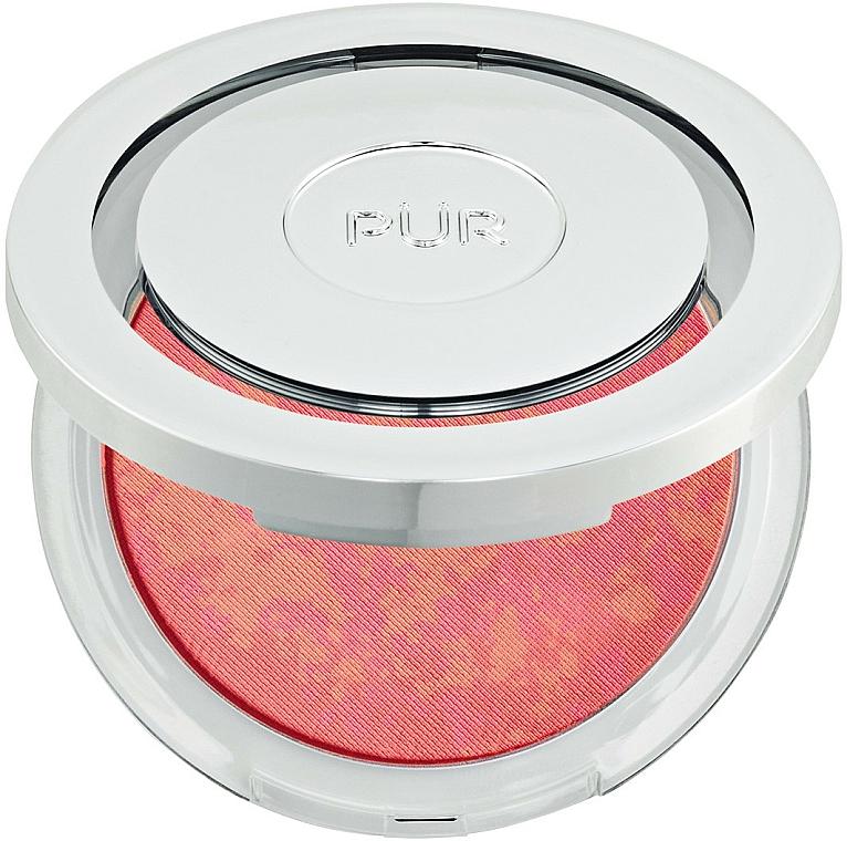 Blush - Pur Blushing Act Skin Perfecting Powder — foto N1