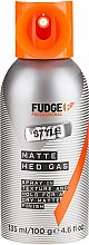 Profumi e cosmetici Spray fissante - Fudge Matte Hed Gas Mattes Spray