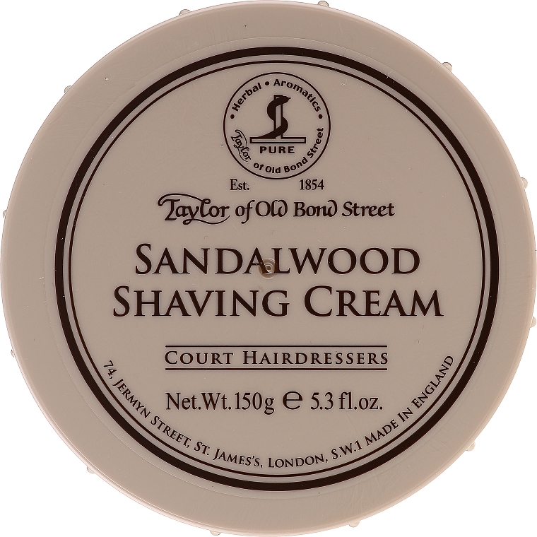 "Crema da barba ""Sandalo"" - Taylor of Old Bond Street Sandalwood Shaving Cream Bowl"