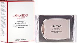 Profumi e cosmetici Salviette detergenti rinfrescanti - Shiseido Refreshing Cleansing Sheets