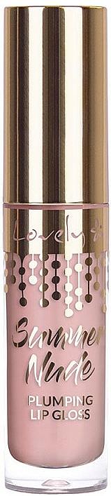 Lucidalabbra ultra-brillante - Lovely Summer Nude Plumping Lip Gloss