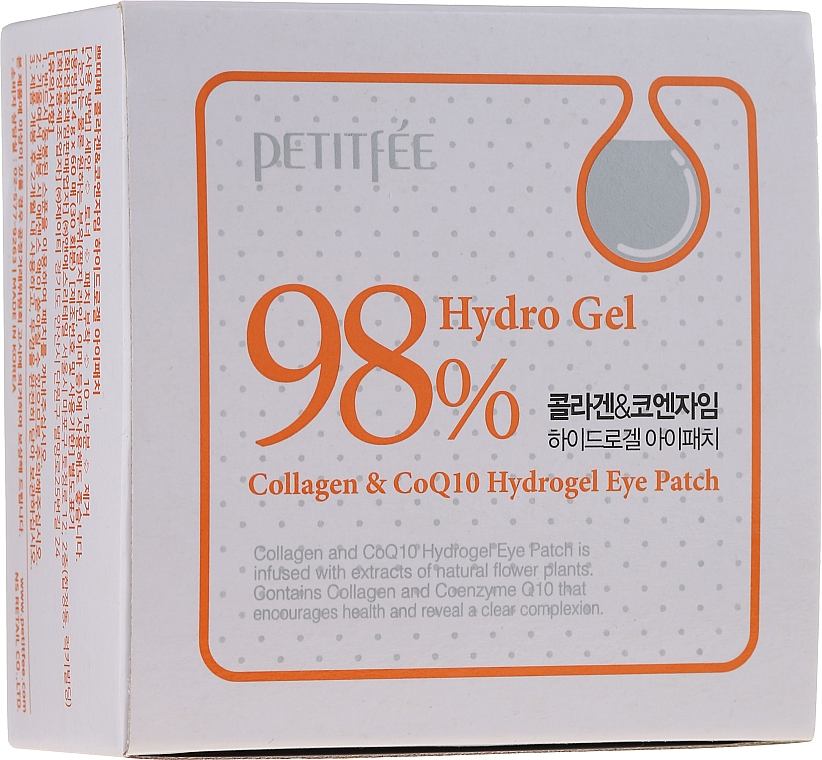 Patch contorno occhi con collagene e coenzima - Petitfee & Koelf Collagen & Co Q10 Hydrogel Eye Patch