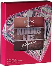Profumi e cosmetici Palette ombretti - NYX Professional Makeup Diamond & Ice Shadow Palette