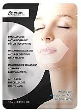 Profumi e cosmetici Maschera contorno labbra - Timeless Truth Mask Anti-Aging Bio-Cellulose Mouth Mask