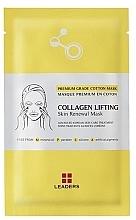 Profumi e cosmetici Maschera rassodante - Leaders Collagen Lifting Skin Renewal Mask