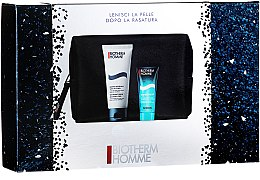 Profumi e cosmetici Set - Biotherm Homme (gel/shm/40ml + foam/100ml + bag)