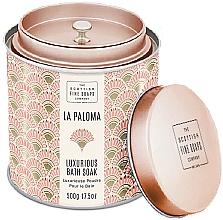 Profumi e cosmetici Scottish Fine Soaps La Paloma - Polvere da bagno profumata