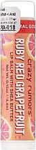 Profumi e cosmetici Balsamo labbra idratante al succo di pompelmo rosa - Crazy Rumors Pink Grapefruit Juice Lip Balm