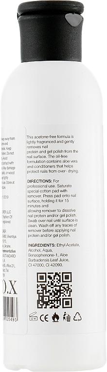 Solvente per smalto gel, bio-gel senza acetone - F.O.X Gel Remover Acetone-Free — foto N2