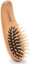 Profumi e cosmetici Spazzola per barba in legno - Men Rock Beard Brush