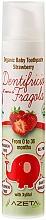 "Profumi e cosmetici Dentifricio per bambini ""Fragola"" - Azeta Bio Organic Baby Toothpaste Strawberry"