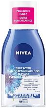 Profumi e cosmetici Struccante occhi bifasico - Nivea Visage Double Effect Eye Make-Up Remover