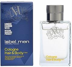 Profumi e cosmetici Label.m Cologne Hair & Body - Colonia