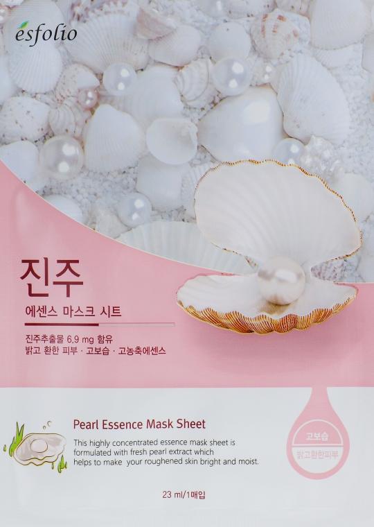 Maschera in tessuto all'estratto di perla - Esfolio Pearl Essence Mask Sheet