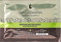 Profumi e cosmetici Maschera capelli nutriente - Macadamia Natural Oil Nourishing Moisture Masque (campioncino)