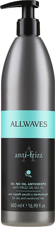 Lozione per capelli ricci e ribelli - Allwaves Anti-Frizz Oil No Oil
