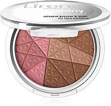 Profumi e cosmetici Bronzer minerale & blush - Lirene Shiny Touch Mineral Bronzer & Blush