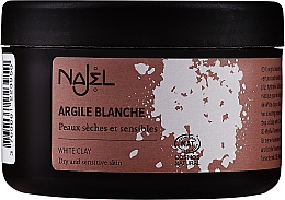"Argilla cosmetica ""Bianca"" - Najel Clay In Powder White  — foto N3"