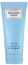 Profumi e cosmetici Abercrombie & Fitch First Instinct Blue Women - Lozione corpo