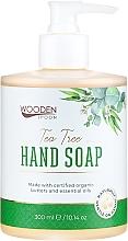 """Profumi e cosmetici Sapone liquido """"Albero del tè"""" - Wooden Spoon Tea Tree Hand Soap"""
