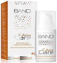 Profumi e cosmetici Crema per contorno occhi alla vitamina C - Bandi Professional C-Active Eye Cream With Active Vitamin C