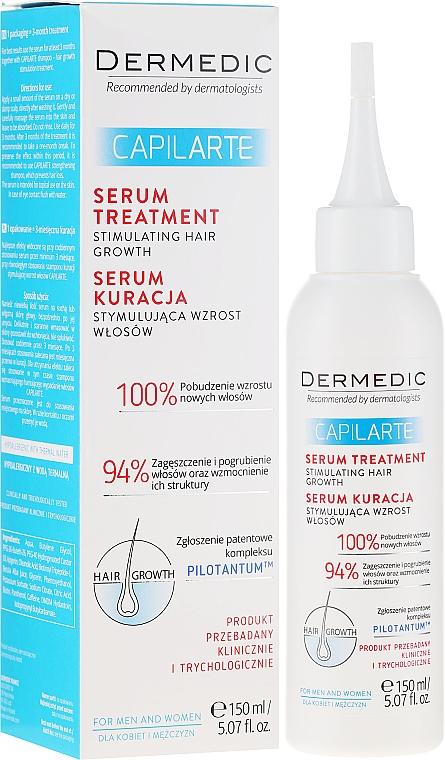 Siero stimolante per la crescita dei capelli - Dermedic Capilarte
