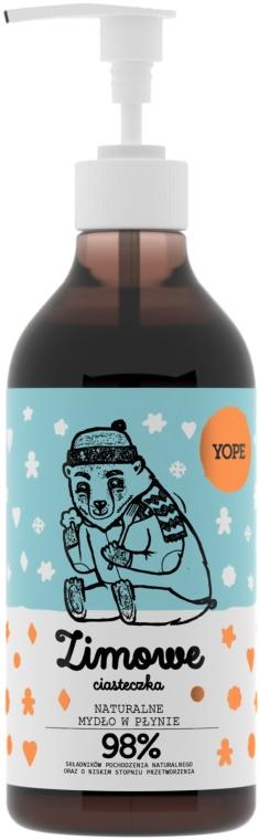Sapone liquido - Yope Zimowe Ciasteczka Hand Soap