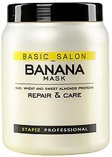 Profumi e cosmetici Maschera per capelli danneggiati - Stapiz Basic Salon Banana Mask