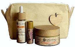 Profumi e cosmetici Set - Shy Deer Zero Waste Set (elixir/30ml+body/butter/100ml+lip/butter/12ml+bag)