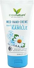 Profumi e cosmetici Crema mani al sale marino e camomilla - Cosnature Med Hand Cream
