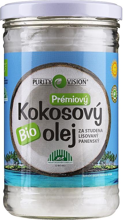 Olio di cocco spremuto a freddo - Purity Vision Bio Virgin Cold Pressed Coconut Oil