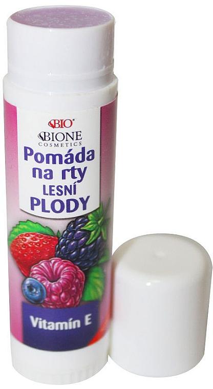 "Balsamo per labbra ""Frutti di bosco"" - Bione Cosmetics Organic Lip Balm Forest Fruit — foto N1"
