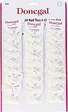Profumi e cosmetici Set unghie artificiali - Donegal Nail Tips & Glue