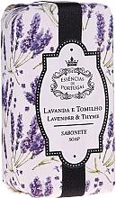 Profumi e cosmetici Sapone naturale - Essencias De Portugal Natura Lavander&Thyme Soap