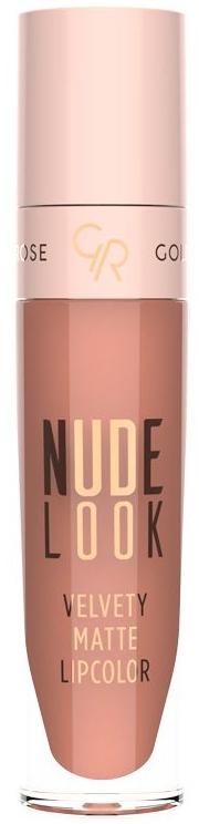 Rossetto opaco - Golden Rose Nude Look Velvety Matte Lipcolor