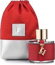"""Profumi e cosmetici Sacchetto regalo per profumeria, rosso """"Perfume Dress"""" - MakeUp"""