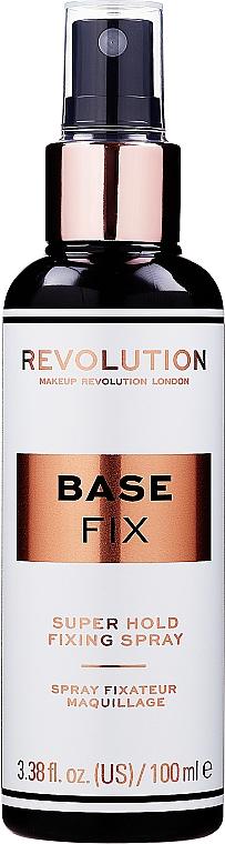Spray fissante trucco - Makeup Revolution Base Fix Super Hold Fixing Spray