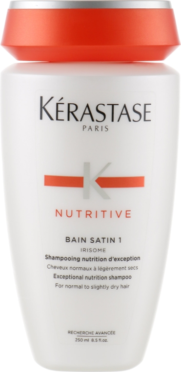 Shampoo per capelli normali e leggermente secchi - Kerastase Bain Satin 1 Irisome Nutritive Shampoo