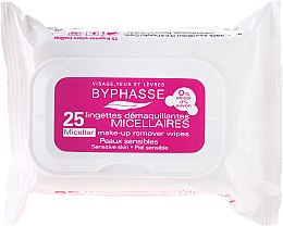 Profumi e cosmetici Salviette struccanti - Byphasse Make-up Remover Micellar Solution Sensitive Skin Wipes