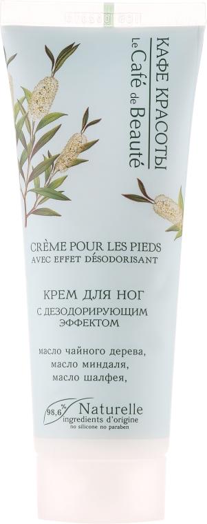 Crema piedi, con effetto deodorante - Le Cafe de Beaute Foot Cream