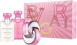 Profumi e cosmetici Bvlgari Omnia Pink Sapphire - Set (edt/40ml + b/lot/40ml + sh/gel/40ml)
