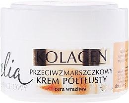 Profumi e cosmetici Crema antirughe per pelli sensibili - Celia Collagen Cream