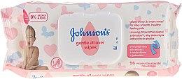 """Profumi e cosmetici Salviettine umidificate """"Tender Care"""", anallergiche, 56pz - Johnson's® Baby"""