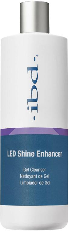 Detergente per gel-smalto - IBD LED Shine Enhancer Gel Cleanser