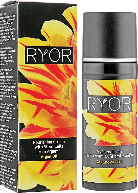 Crema nutriente alle cellule staminali di Argan - Ryor Argan Oil Nourishing Cream With Argania Stem Cells — foto N1