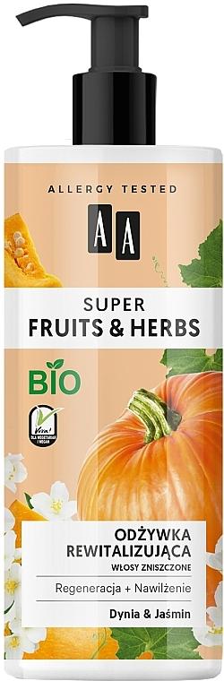 Balsamo rivitalizzante per capelli - AA Super Fruits Herbs Conditioner
