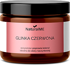 """Profumi e cosmetici Argilla naturale """"Rossa"""" - NaturalME"""