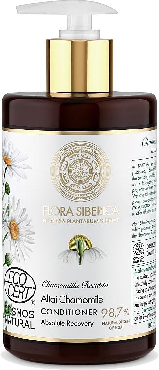 Balsamo per capelli danneggiati - Natura Siberica Flora Siberica Altai Chamomile Hair Conditioner