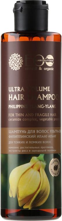 Shampoo volumizzante per capelli sottili e fragili - Eco Laboratorie Ultra Volume Hair Shampoo